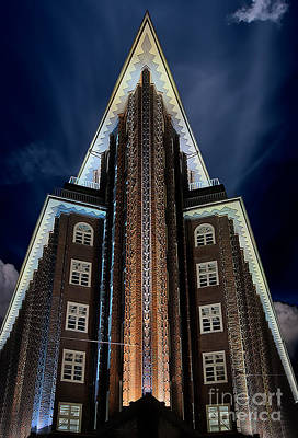 Hamburg Photograph - Chilehaus, Hamburg by Nichola Denny
