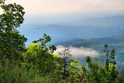 Photograph - Chilhowee Overlook by Kathryn Meyer