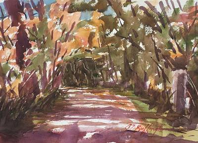 Painting - Chili Mill Road  by JULES Buffington