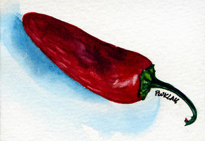 Chili Pepper 008 Original by Peter Lau