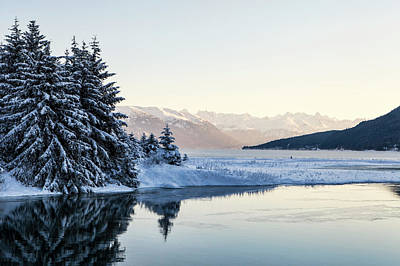 Photograph - Chilkoot Inlet In Winter by Michele Cornelius