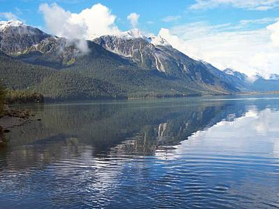 Art Print featuring the photograph Chilkoot Lake by Adam Owen