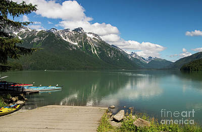 Photograph - Chilkoot Lake - Haines Alaska by Louise Magno