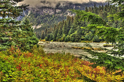 Photograph - Chilkoot Paint Hdr 2 by Richard J Cassato