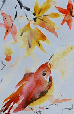 Maple Season Painting - Chill by Beverley Harper Tinsley
