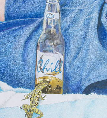 Salamanders Mixed Media - Chill by Constance DRESCHER