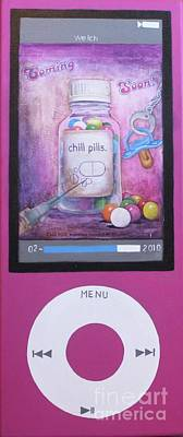 Pill Mixed Media - Chill Pills by Mari Welch