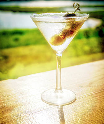Martini Royalty-Free and Rights-Managed Images - Chilled Not Shaken by David Kay