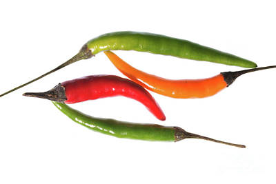 Photograph - Chilli Mix 2 by Steve Purnell