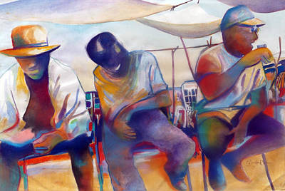 Painting - Chillin' by Glenford John
