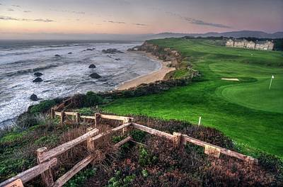 Photograph - Chilling At Half Moon Bay by Quality HDR Photography