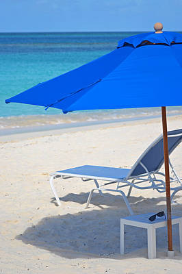 Photograph - Chilling On The Beach Anguilla Caribbean by Toby McGuire