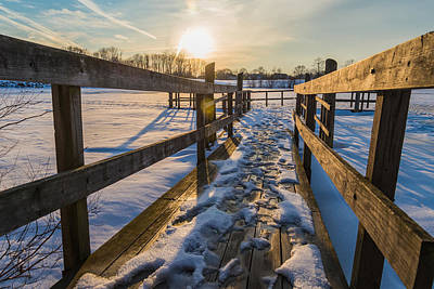 Bucks County Photograph - Chilling On The Dock by Kristopher Schoenleber