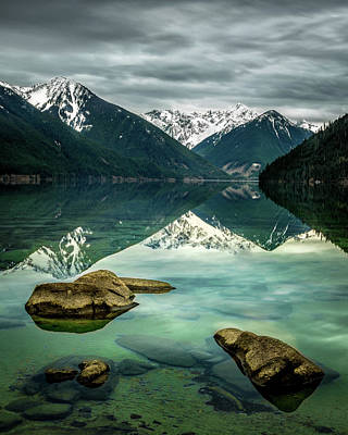 Photograph - Chilliwack Lake Serenity by Brad Koop