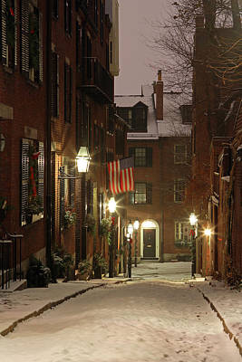 Photograph - Chilly Boston by Juergen Roth