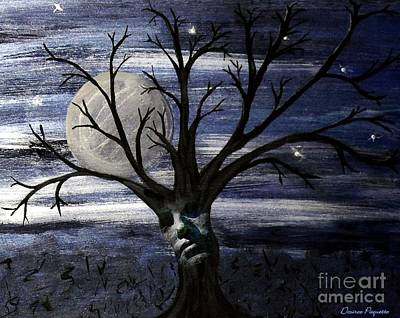 Painting - Chilly Eve by Desiree Paquette