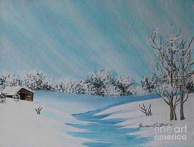Painting - Chilly Winter Day by Barbara Griffin
