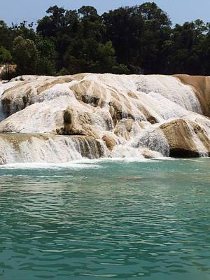 Photograph - Chilon Waterfall. by Shlomo Zangilevitch