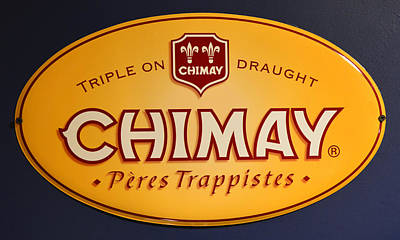 Photograph - Chimay Beer by David Lee Thompson