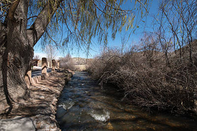 Photograph - Chimayo Acequia by Tom Cochran