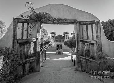 Photograph - Chimayo Entrance by Inge Johnsson
