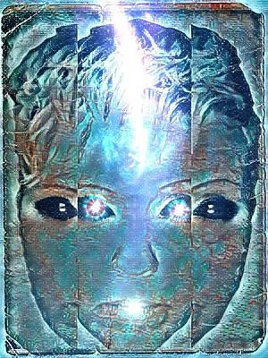Digital Art - Chimera by Vennie Kocsis