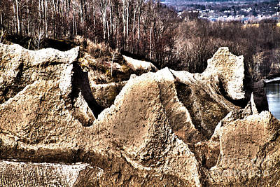 Photograph - Chimney Bluff by William Norton