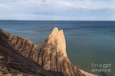 Photograph - Chimney Bluff Wind Carving by William Norton