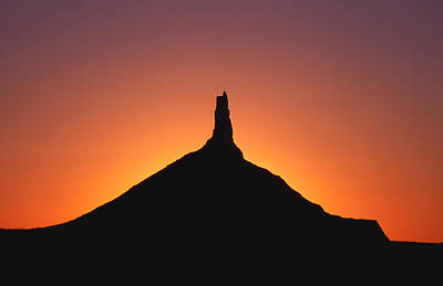 Photograph - 1m16007-chimney Rock  by Ed  Cooper Photography