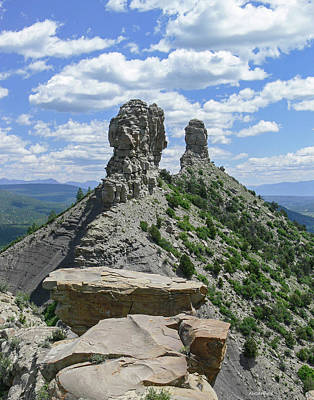 Photograph - Chimney Rock by Allen Sheffield