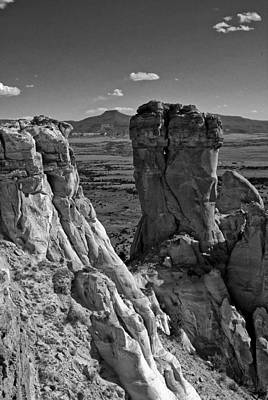 Photograph - Chimney Rock And Cerro Pedernal 2 by Lou  Novick