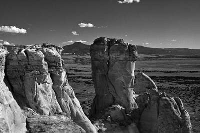 Photograph - Chimney Rock And Cerro Pedernal 3 by Lou  Novick