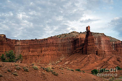 Photograph - Chimney Rock Capital Reef by Cindy Murphy - NightVisions