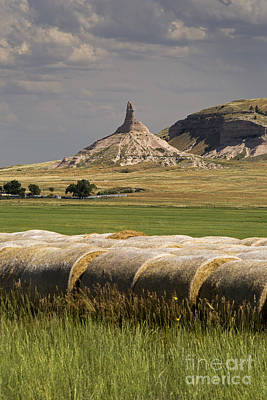 Photograph - Chimney Rock by Jim West