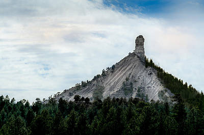 Photograph - Chimney Rock National Monument by Dakota Light Photography By Dakota