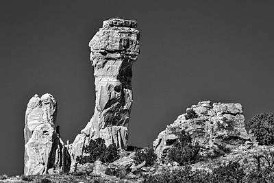 Photograph - Chimney Rock - New Mexico #2 by Stuart Litoff