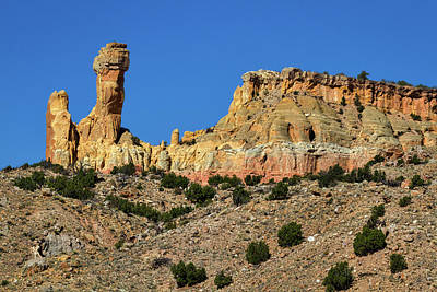 Photograph - Chimney Rock - New Mexico #3 by Stuart Litoff