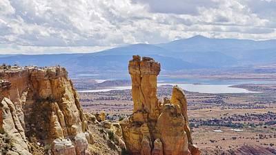 Chimney Rock New Mexico Art Print by John Pierpont
