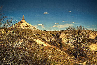 Photograph - Chimney Rock  by Roger Passman
