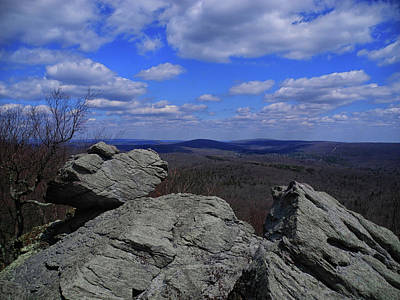 Photograph - Chimney Rocks 2 by Raymond Salani III
