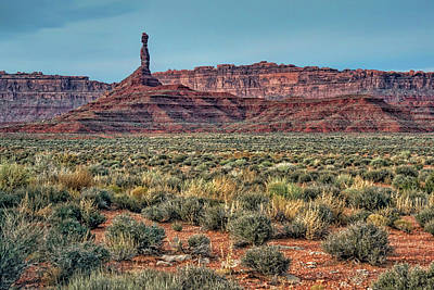Photograph - Chimney - Valley Of The Gods - Utah by Nikolyn McDonald