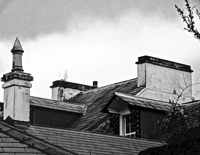 Photograph - Chimneys And Rooftops by Stephanie Moore