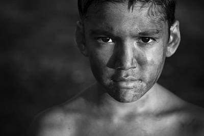 Chimney Photograph - Chimneys Boy by Miki Meir Levi