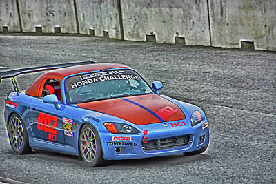 Photograph - Chin Motorsports 2016 by Mike Martin