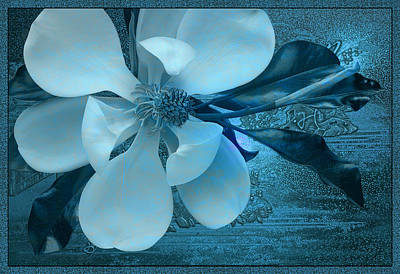 Wall Art - Digital Art - China Blue by Ron Morecraft