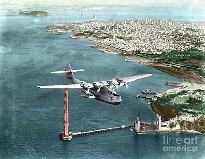 Photograph - China Clipper, 1935 by Granger