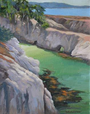 China Cove Painting - China Cove by Maralyn Miller