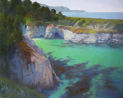 Painting - China Cove by Sharon Weaver