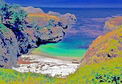 China Cove Photograph - China Cove West Point Lobos  by Scott L Holtslander