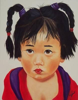 Painting - China Doll 1 by Joni McPherson